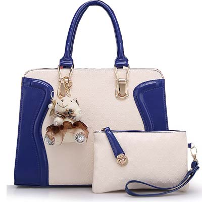 Fashion Elegant 2 in 1 Handbag With Bear