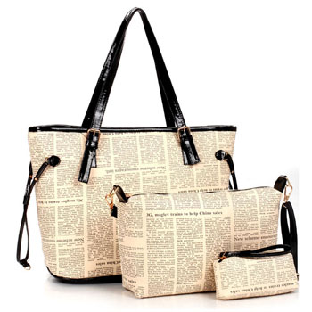 9029 YoYOo Fashion 3 in 1 bag (D)