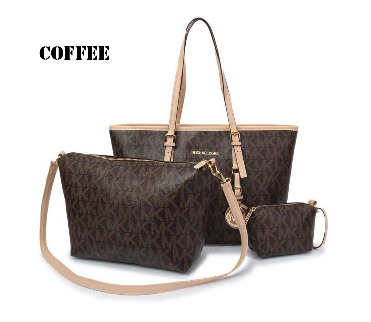 7849 Fashion 3 in 1 bag (Coffee)