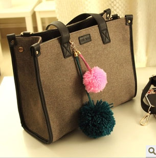 7169 YoYOo Fashion Linen Elegant Bag